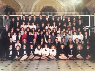Back in the day: NatWest Bank staff in Leicester in the 1980s