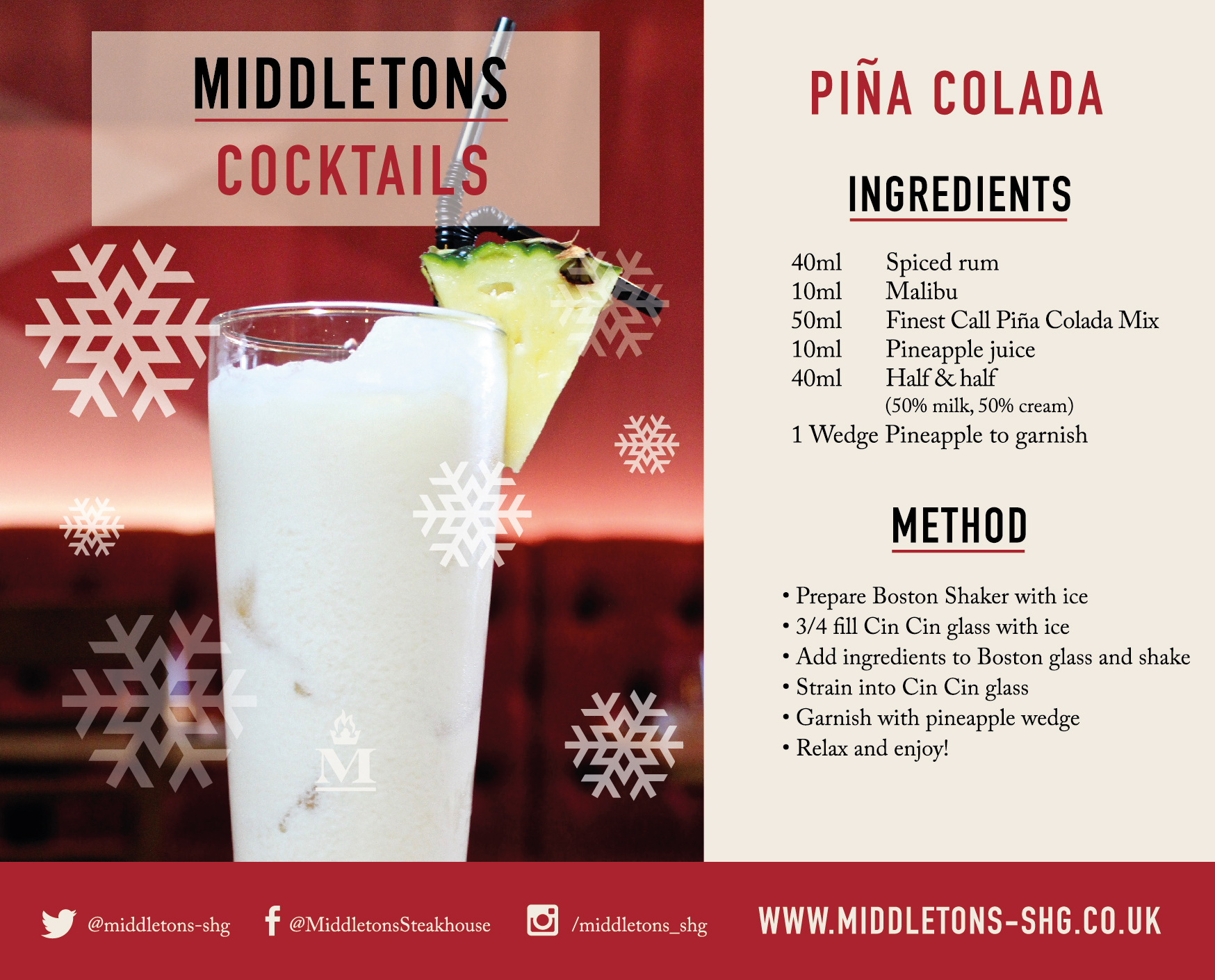 Click to download Piña Colada recipe